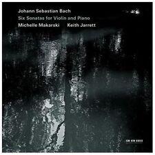 Johann Sebastian Bach: Six Sonatas for Violin and Piano (CD, Sep-2013, 2...