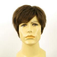 Perruque homme 100% cheveux naturel châtain clair ref THOMAS 8