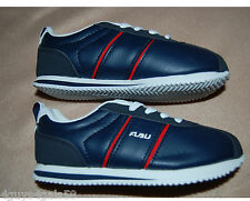 Toddler Boy SHOES FUBU Athletic NAVY RED STRIPE Lace Up  13