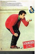 Publicité Advertising 1983 Le Catalogue 3 Suisses