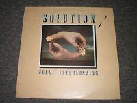 Solution~Fully Interlocking~1977 Jazz/Prog Rock~UK IMPORT~First Press~FAST SHIP