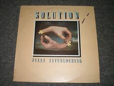 Solution~Fully Interlocking~1977 Jazz/Prog Rock~UK IMPORT~First Press~FAST SHIP