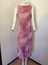 **Anne Brooks Design Debenhams Beautiful Pink/Peach Mix Dress - Size 12 FREE P&P