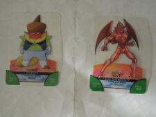2 CARTE CARD BONUS  CARDS LAMINACARDS EDIBAS DRAGON BALLZ  E GT-BACKSTAGE 2008