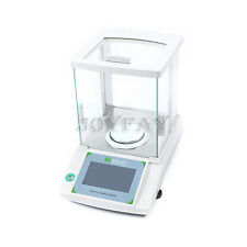 180 x 0.0001g 0.1 mg Lab Analytical Balance Digital Precision Scale Touch Screen