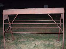 Huge Commercial Tack Store/ Horse Stable Saddle Rack Stand Hold 15+ Or Pad Blnkt