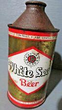 White Seal_ Kiewel Brewing Co._ Cone Top Beer Can -[Read Description]-