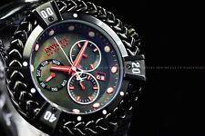 Invicta 53mm Reserve Bolt Hercules Swiss BLACK LABEL Chronograph SS Watch