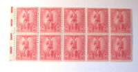 Very Fine mnh! US War Savings Stamps ~ Scott # WS7b ~  Booklet Pane of 10