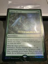 MTG - Throne Of Eldraine - Prerelease Foil - Once Upon A Time (Spanish)