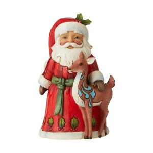 Jim Shore Heartwood Creek 6006656 Santa With Deer A Time For Peace Figurine