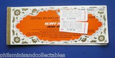 Air India Flight Ticket Booklet    -  1982
