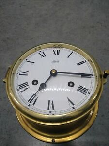 Schatz & Sohne Brass Ship's Clock