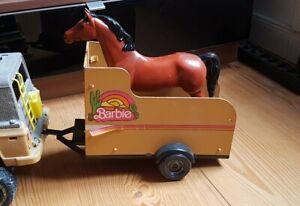 Big JIM Horsetrailer 1973/Barbie Pferdeanhänger