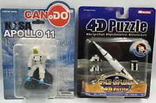 SPACE : SATURN V 4D PUZZLE & APOLLO 11 ASTRONAUT FIGURE