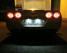 2005-2013 Chevrolet C6 Corvette Complete White LED Kit Interior Hatch Reverse