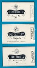 3 different Old EMPTY cigarette packets + early health warnings see scans * #803