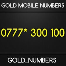 GOLD NUMBER VIP NUMBER EASY MOBILE NUMBER 0777*300100