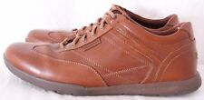 Rockport 81733 International Path Brown Leather T-Toe Casual Sneaker Mens US 11M