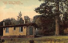 Two Postcards Hundred Mile Vista & House of Mirth in Julian, California~109121