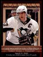 2010-11 Upper Deck Biography Of A Season Sidney Crosby #BOS2