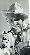 LUIS TRENKER ACTOR WRITER PRODUCER ALPINIST ARCHITECT SIGNED PHOTO AUTOGRAPH