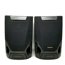 Panasonic SB-AK15 2 Way (2) Speakers System Bass-Reflex 6 Ohms 100 Watts