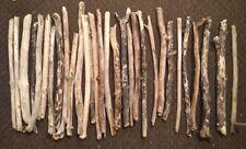 10 straight pieces of driftwood 30cm average arts crafts decor
