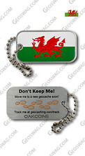 Welsh Flag Travel Tag For Geocaching (Travel Bug Geocoin) - Wales