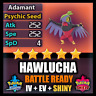 Pokemon Sword & Shield 6IV Shiny Hawlucha and BATTLE READY IV Competitive FAST