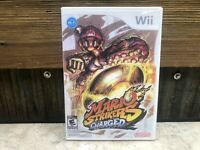 Mario Strikers Charged (Nintendo Wii, 2007) **DISC ONLY READ** TESTED