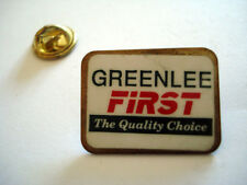 PINS RARE ENTREPRISE GREENLEE FIRST