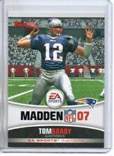 2006 TOPPS TOM BRADY EA SPORTS MADDEN 07