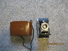 Kodak Tourist Folding Camera f6.3 105mm Vintage with case