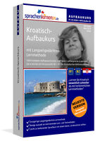 Kroatisch lernen,Sprachkurs,Aufbaukurs + MP3 Audio CD,Sprachenlernen24