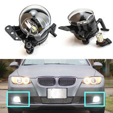 2X LED Front Fog Lights Driving Lamps For BMW E60 E61 E63 E46 X3 325i 525i Pair