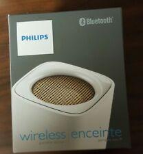 Philips BT100w/37 Wireless  Portable Bluetooth Speaker, white