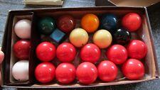 Set of Snooker Balls 3.5cm Diameter and Billiard Balls - see details