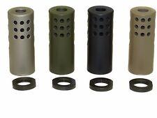 Muzzle Rise Eliminator Brake 223 Made In USA Cerakoted OD FDE Black TI 1/2-28
