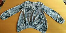 WOMENS GREY TOP SIZE 8