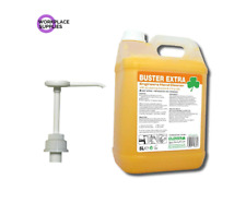 Clover Buster Extra 5Ltr Engineers Hand Cleaner Beaded Scrub & Dispenser Pump