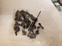 GI Acid JoyToy Joy Toy Riot Police Force 1/18 Figure Stand Parts Case Head Guns