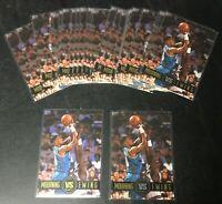 25 Card Lot Alonzo Mourning Patrick Ewing 1993 Skybox Promo NNO Rare Insert