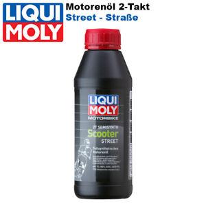 Liqui Moly 2T Motorbike Motoröl 1622 Scooter Street 500ml teilsynthetisch Roller