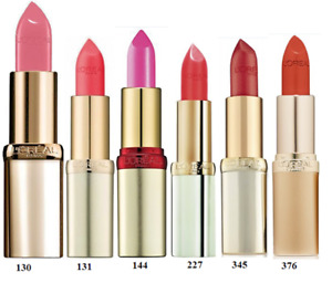 L'OREAL COLOR RICHE LIPSTICK - Choose Your Shade        MULTI-BUY SAVE UP TO 10%