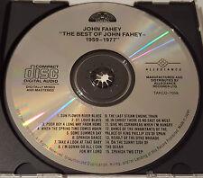 John Fahey - The Best Of John Fahey 1959 - 1977, TAKOMA TAKCD-7058, Japan CD