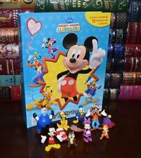 Disney Mickey Mouse Clubhouse Illustrated 12 Character Figurines & Playmat Gift