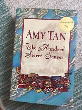 Amy Tan, THE HUNDRED SECRET SENSES **SIGNED BY AUTHOR**