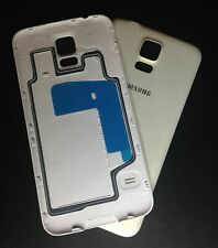 For Samsung Galaxy S5 I9600 G900F Battery Back Rear Cover Case Door White