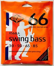 Rotosound Rs66La Stainless Steel Bass Strings 30-85 extra lite